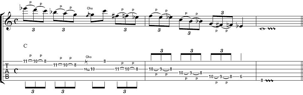 ロック・ギターフレーズ